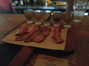 Hmmmm, bacon and whiskey *drool*