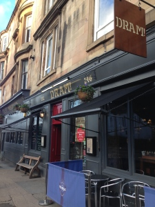 How could you walk past a bar called Dram!