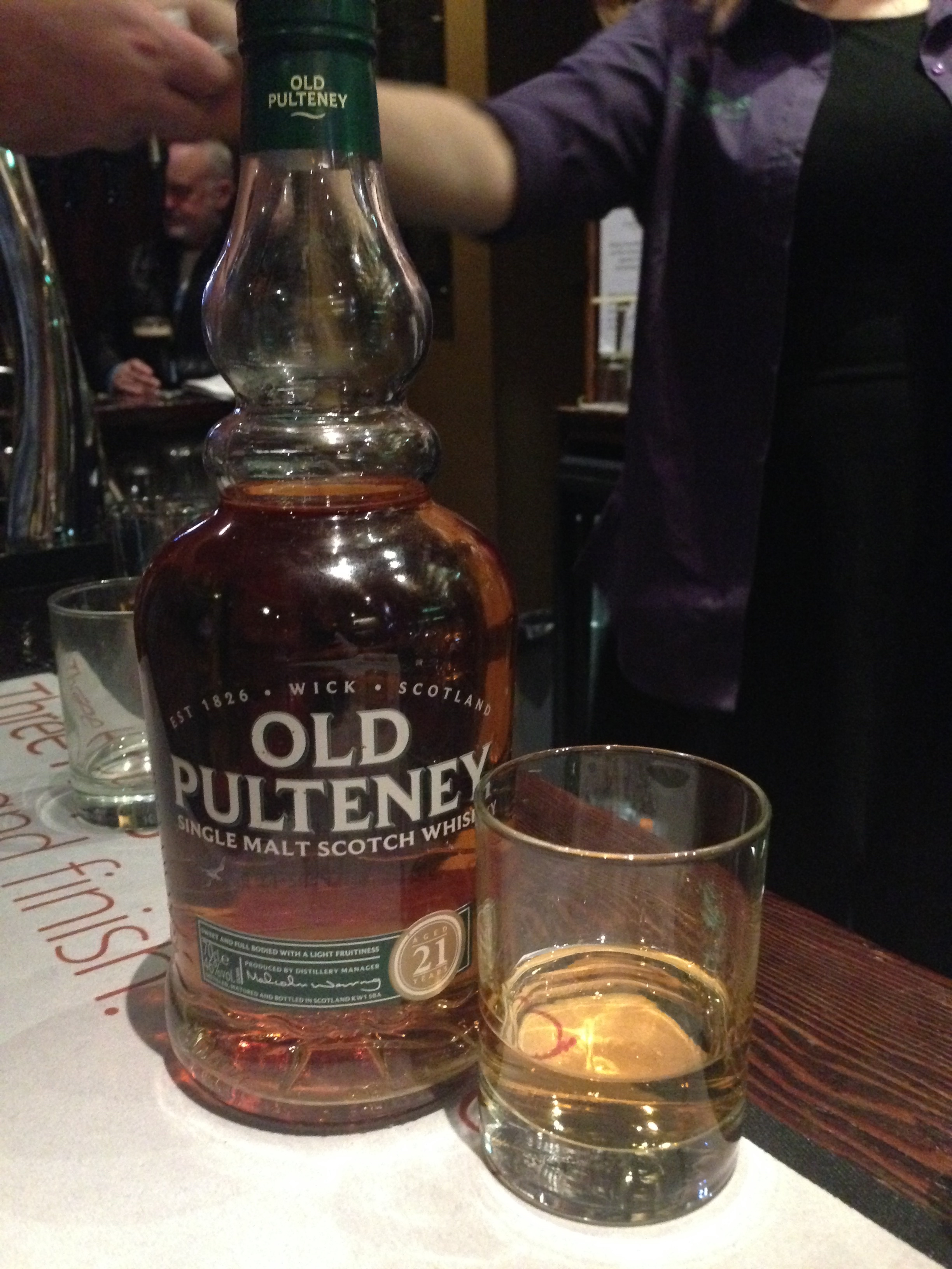 pulteney single men These brave men and  whisky and is a mixture of old pulteney single malt that has been aged in bourbon barrels and malt  old pulteney navigator review  x.
