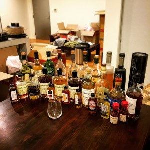 The Whisky a Day collection that survived the move interstate