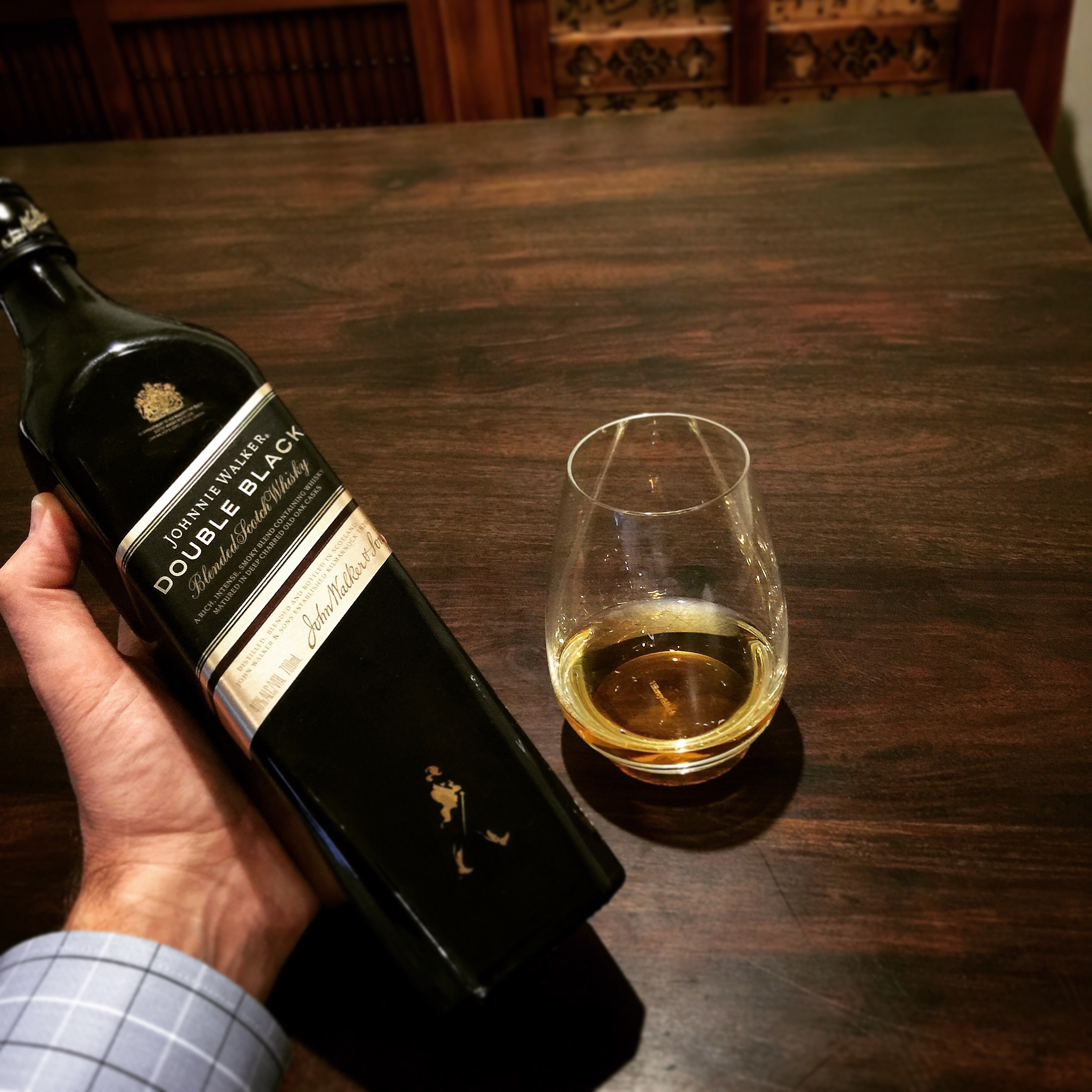 Whisky 429 Johnnie Walker Double Black Blended Scotch